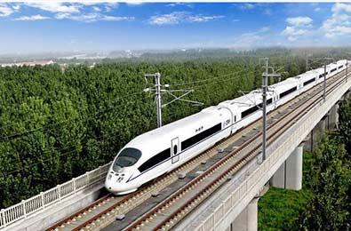 High speed rail parts